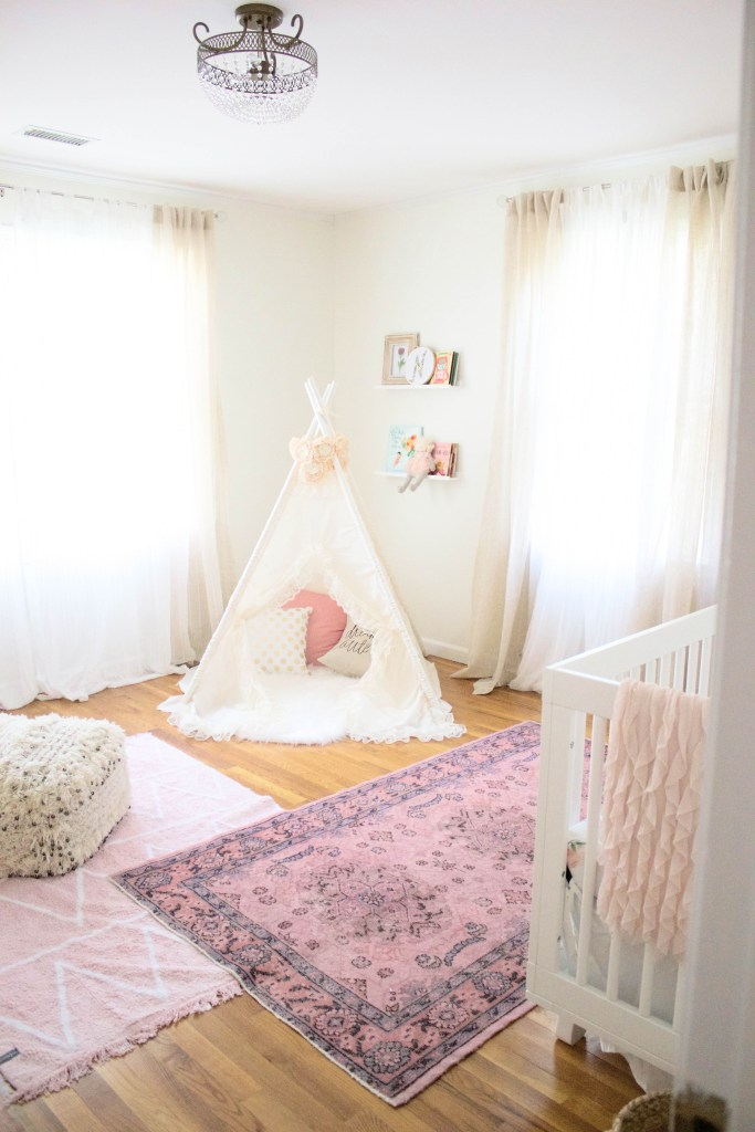Bohemian Girl Nursery by Lauren McBride