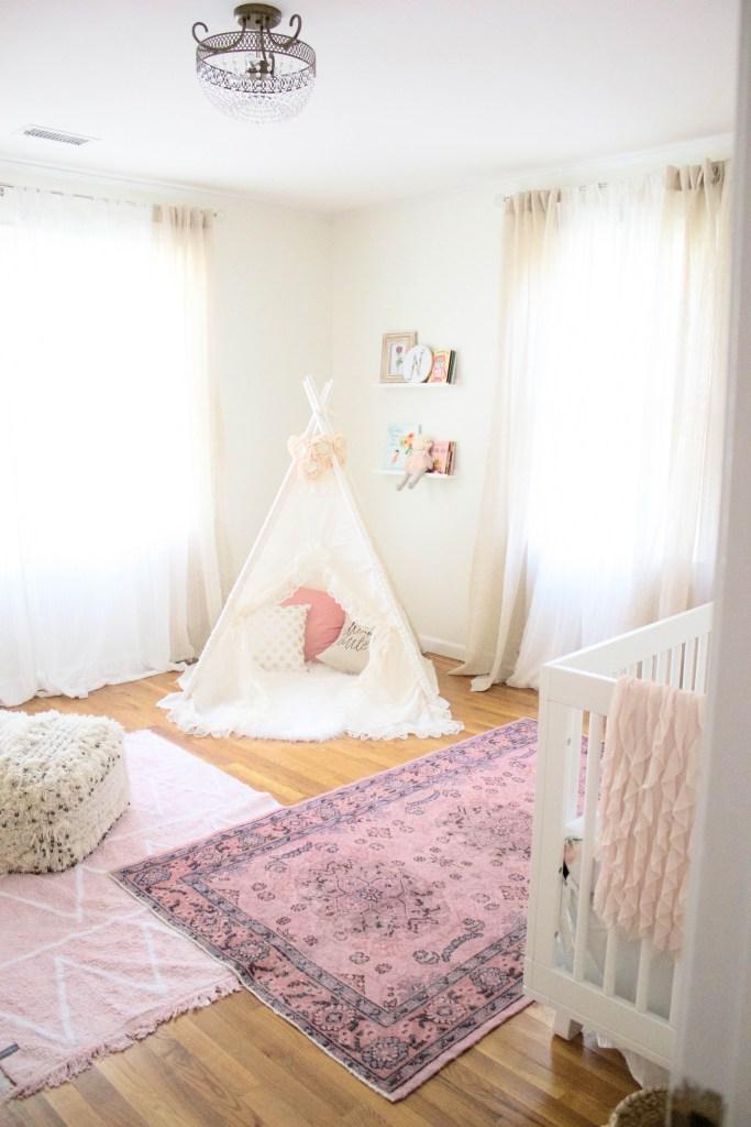 Bohemian Girl Nursery by Lauren McBride