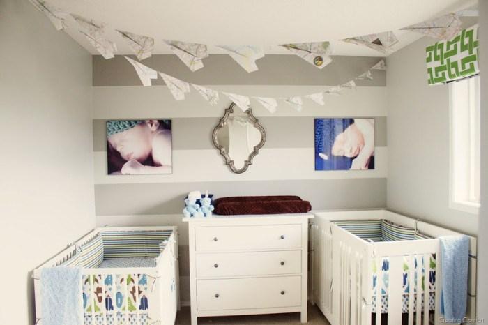 Twins Nursery by Brooklyn Berry Designs