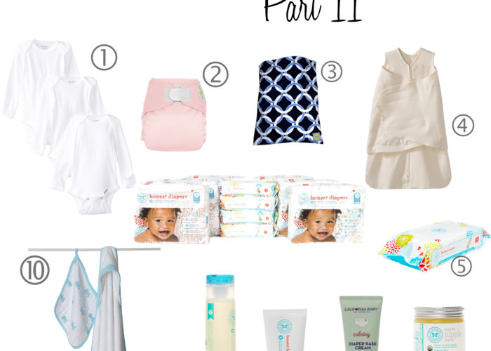 Newborn Essentials Part II