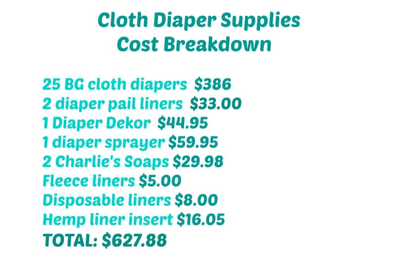 How We Do It Cloth Diapering and Cost Breakdown 12