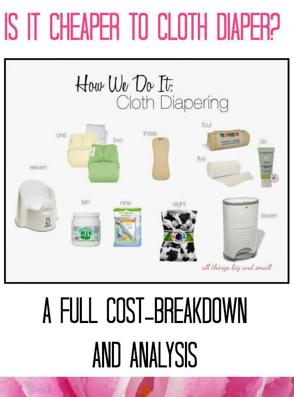 How We Do It Cloth Diapering and Cost Breakdown
