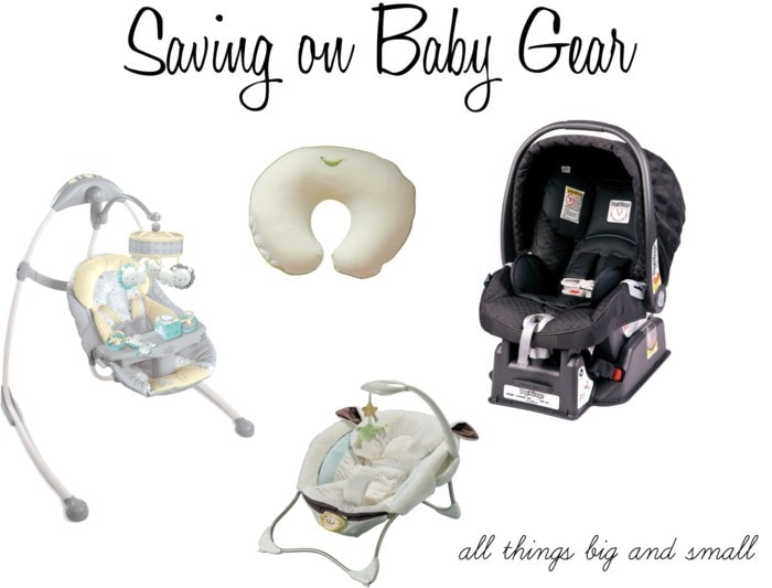 How We Do It Saving on Baby Gear
