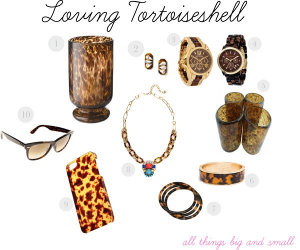 Currently Loving…Tortoiseshell