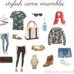 stylish camo outfits