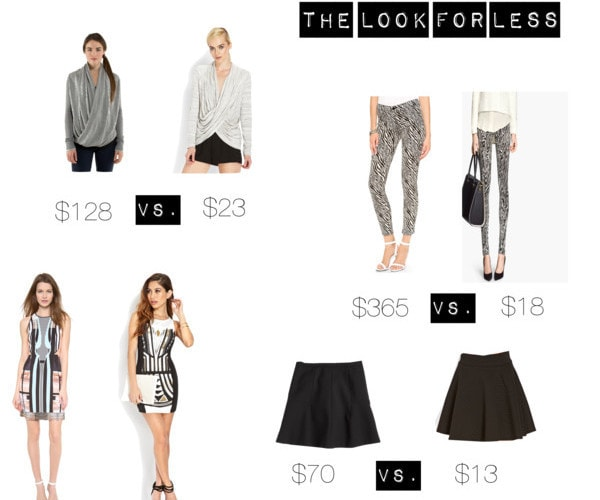 Black and White: Look for Less