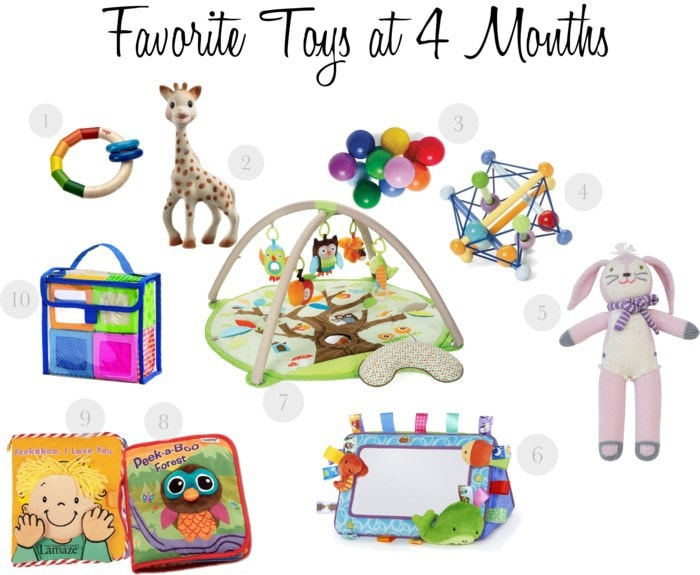 Favorite 4 month toys