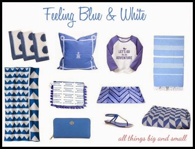 Feeling Blue & White
