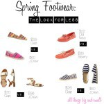 Saturday Steals and Splurges and Spring Footwear: The Look for Less