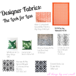 Fabrics Look for Less