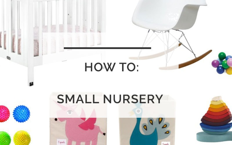 small space living | small space with kids | small nursery | baby in apartment | All Things Big and Small