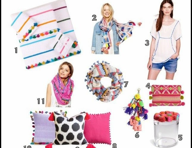 Pom Poms and Tassels Oh My!