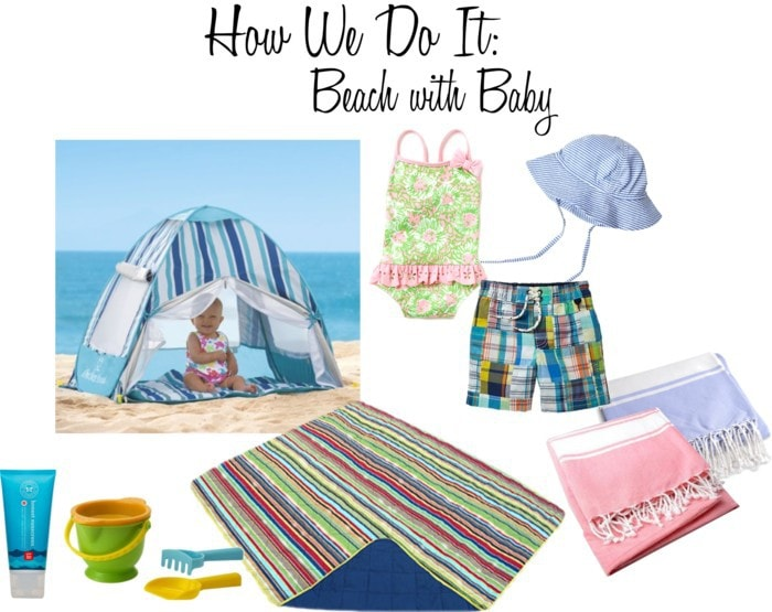 10 Tips for Going to the Beach with Baby
