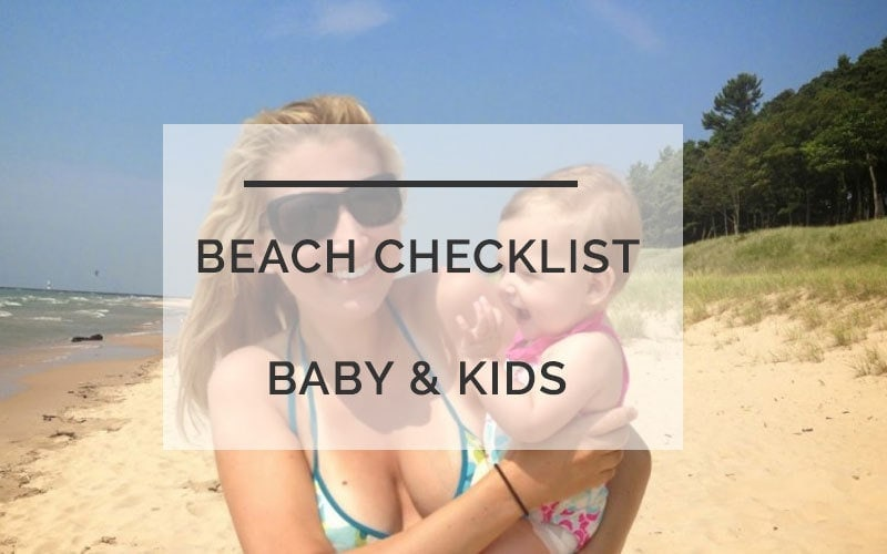 Beach Essentials for Baby & Kids: How to Not Lose Your Mind or Feel Like a Sherpa by popular mom blogger DIY Decor Mom