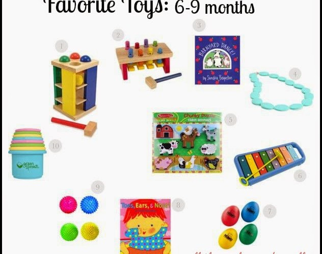Favorite Toys 6- 9 Months