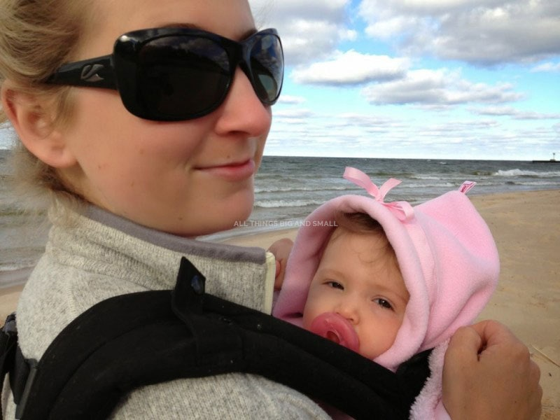 tips for the beach with baby and kids