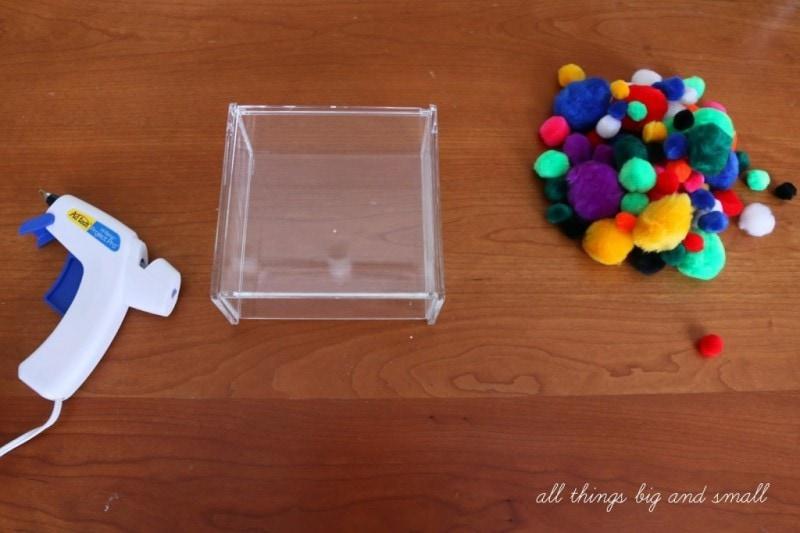 DIY Pom Pom Box