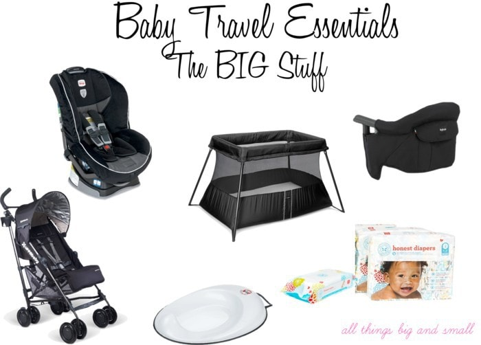 How We Do It Baby Toddler Travel Essentials