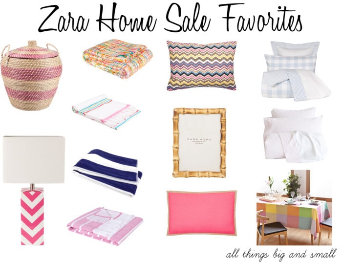 zara home sale favorites
