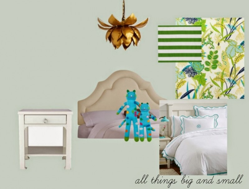 Get the Look and a Look for Less Brass Lotus Light