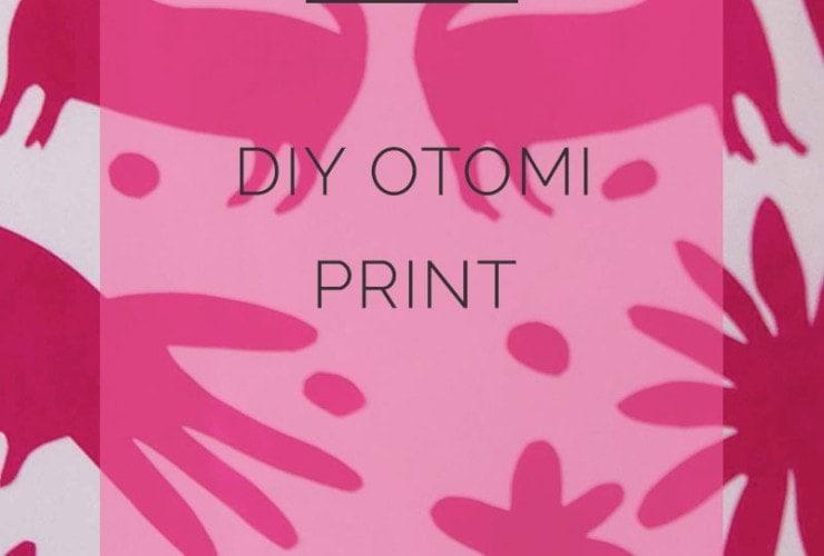 DIY Otomi Print Artwork