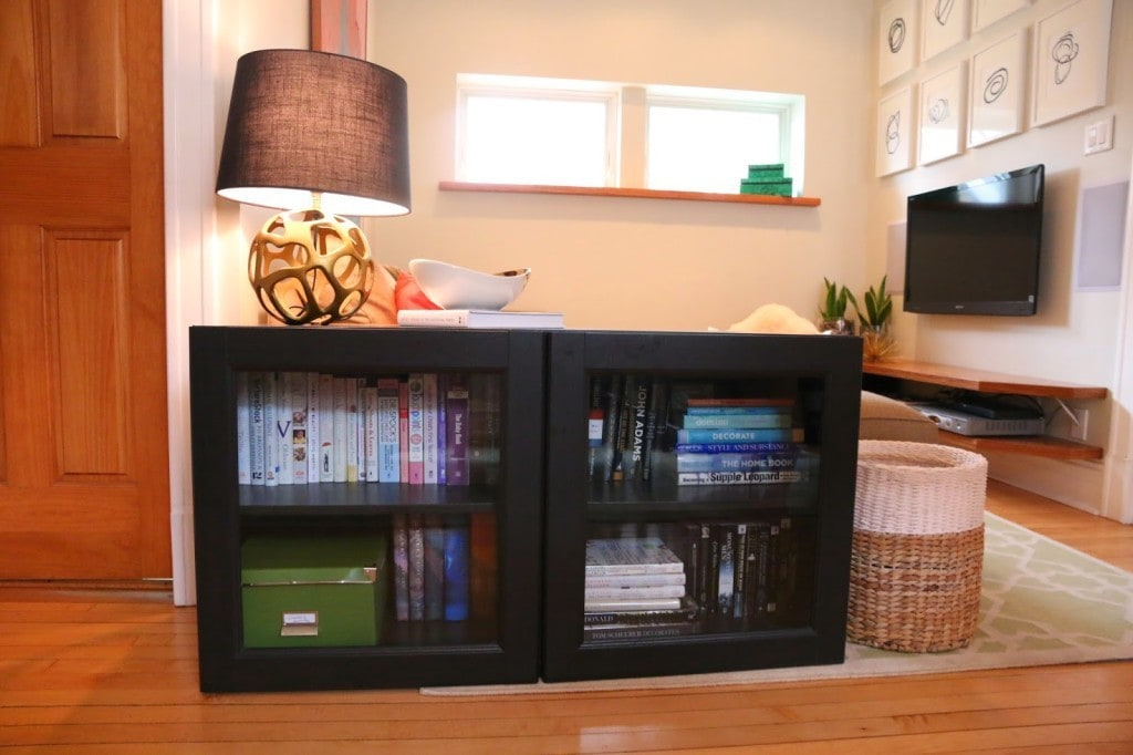 Small Space Media Console Our Diy Solution