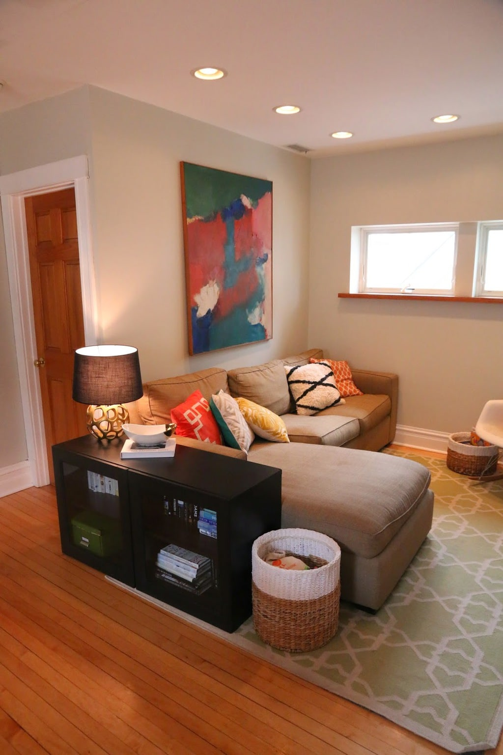 how to make a small room look bigger pinterest