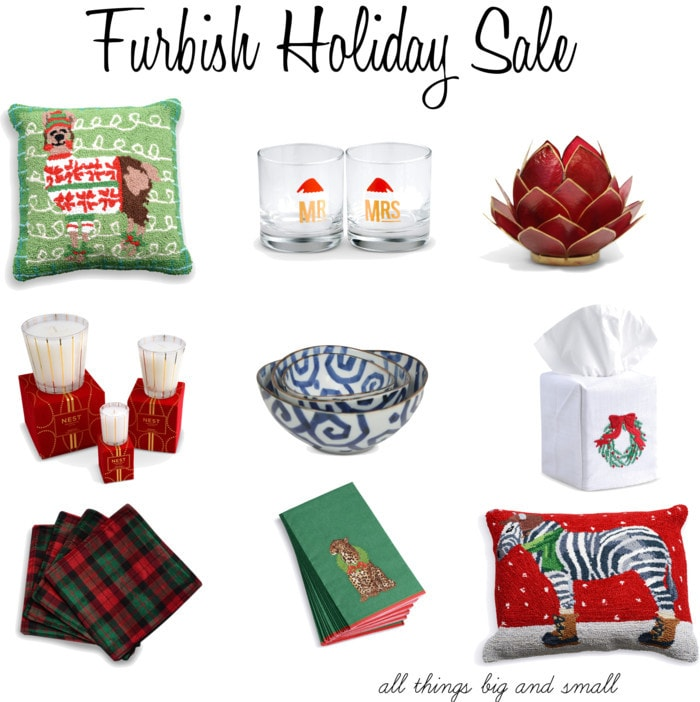 Furbish Holiday Sale