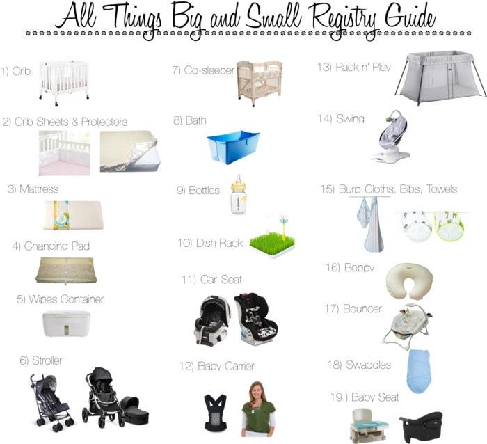 What I Would Register for Again - 20 Baby Registry Essentials I Would Register For Again & what NOT to Register For by popular mom blogger DIY Decor Mom