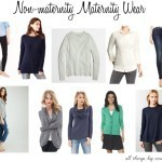 Budget friendly Non-maternity Maternity Wear