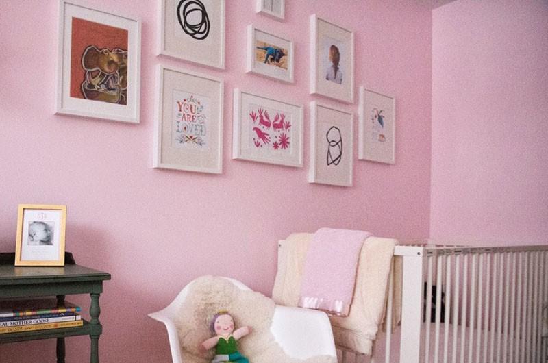 Budget-friendly Little Girls Room 12
