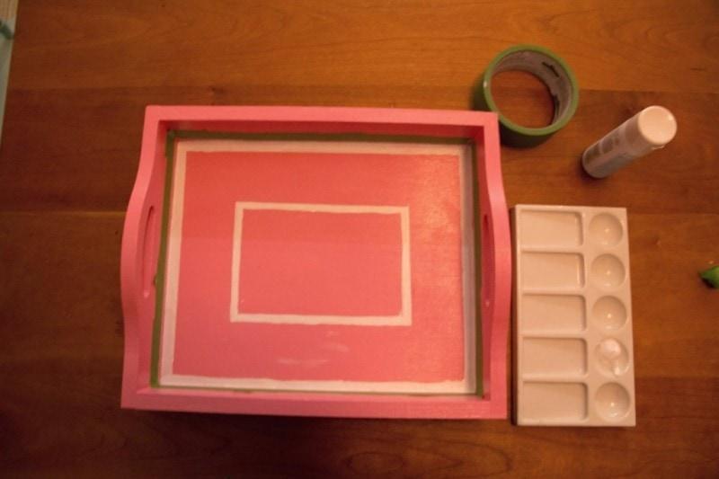 DIY bone inlay tray | bone inlay tray | how to make a faux inlay tray