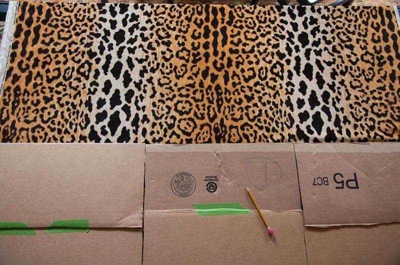 DIY Leopard Pillows