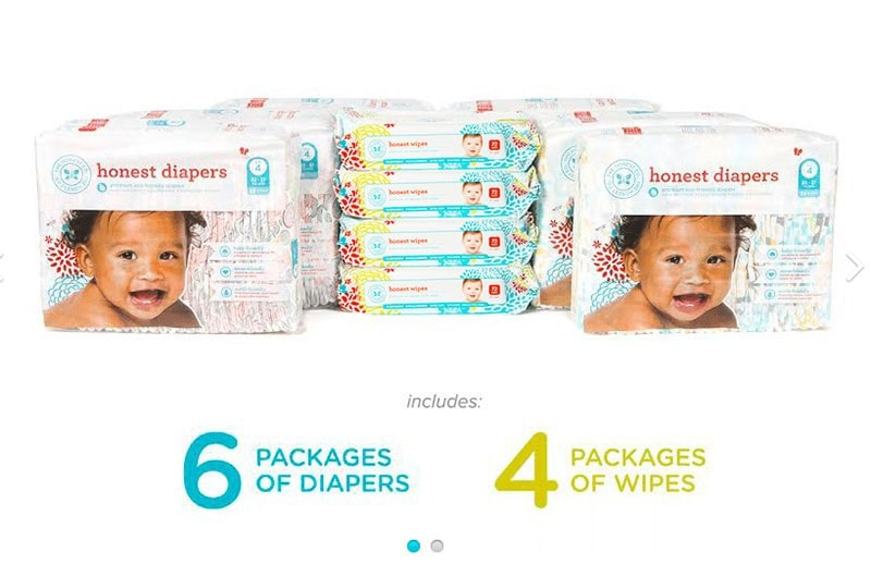 Diaper Cost Breakdown and Honest Co Savings LAST DAY - Honest Diapers Price Cost Breakdown by popular mom blogger DIY Decor Mom