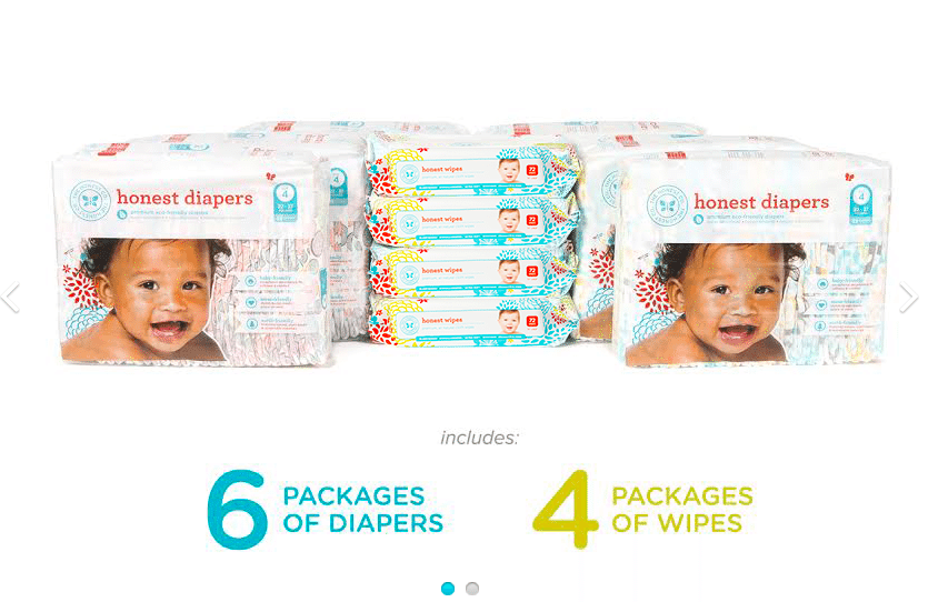 Honest Diapers Price Cost Breakdown by popular mom blogger DIY Decor Mom