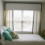 DIY Nursery Curtains with Pelmet Box