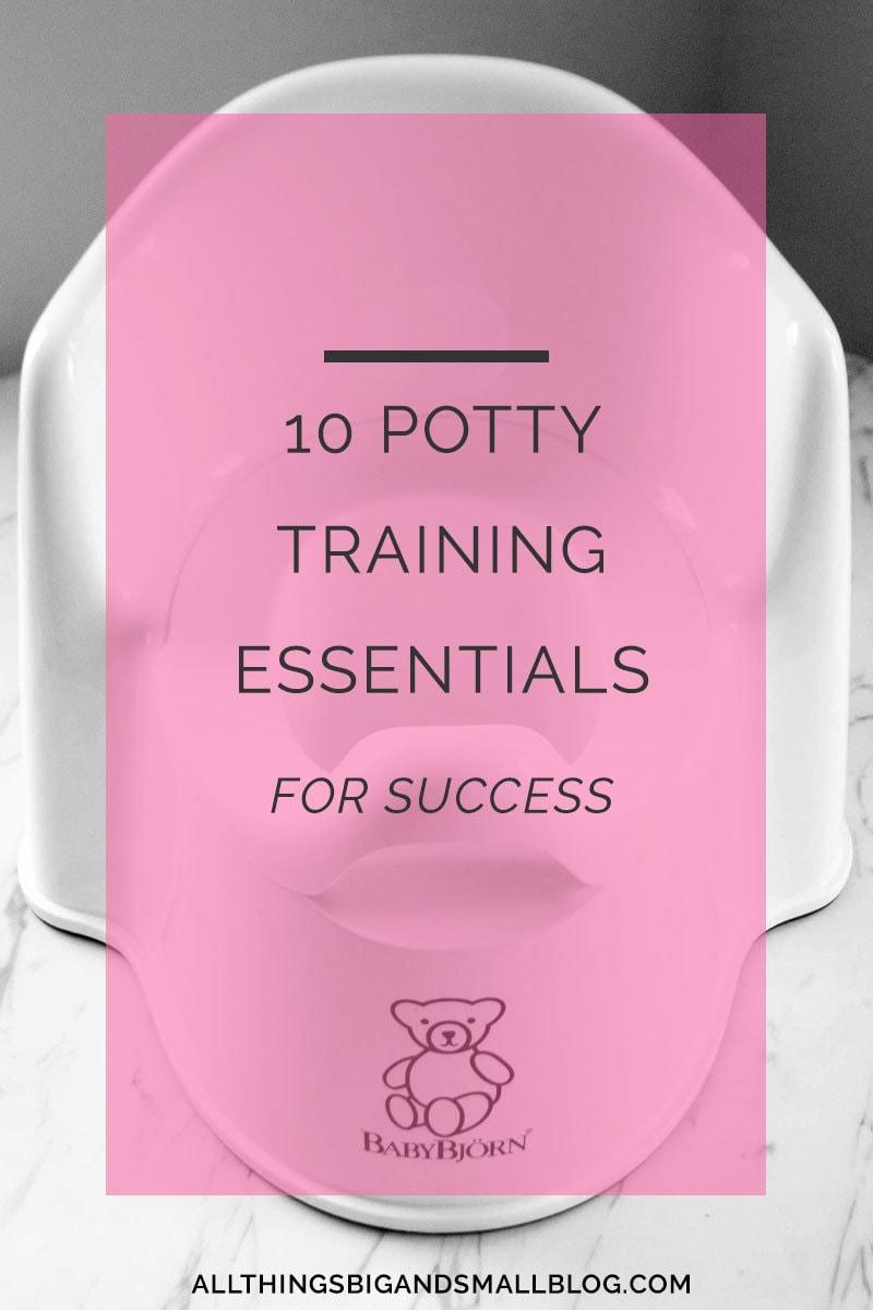 10 Potty Training Tips & Essentials