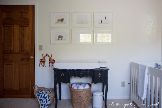 Perfect Before And After Vintage Changing Table