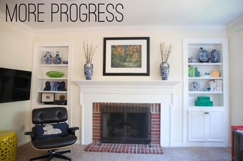 Family Room Progress
