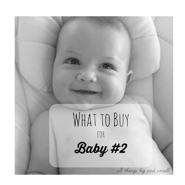 What to Buy for Your Second Baby by popular mom blogger DIY Decor Mom