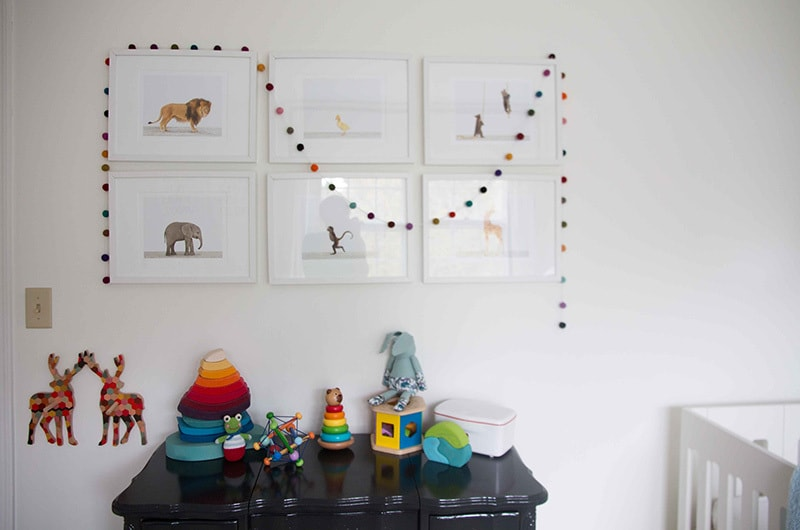 How to Add Color to a Neutral Nursery 7