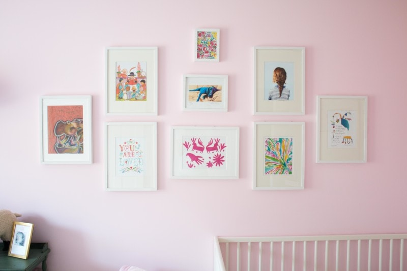 updated gallery wall