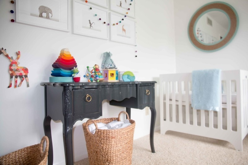adding color neutral nursery - How to Pick Paint Colors for Your House in 5 Steps by home decor blogger DIY Decor Mom