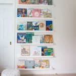 DIY Book Ledge in Nursery