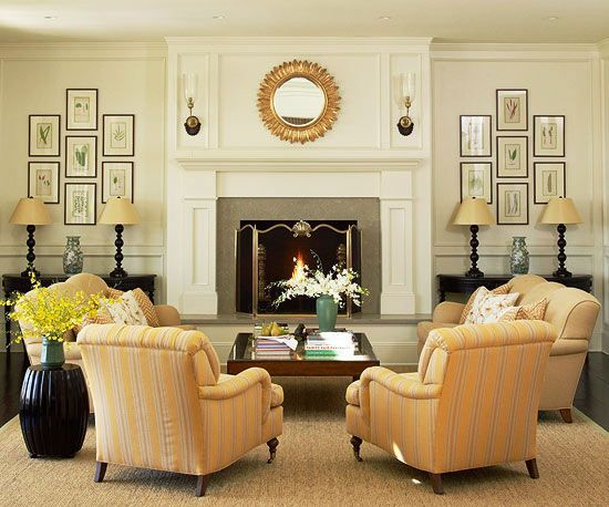 living room symmetry bhg