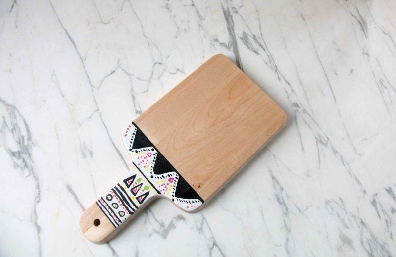 tribal cutting board