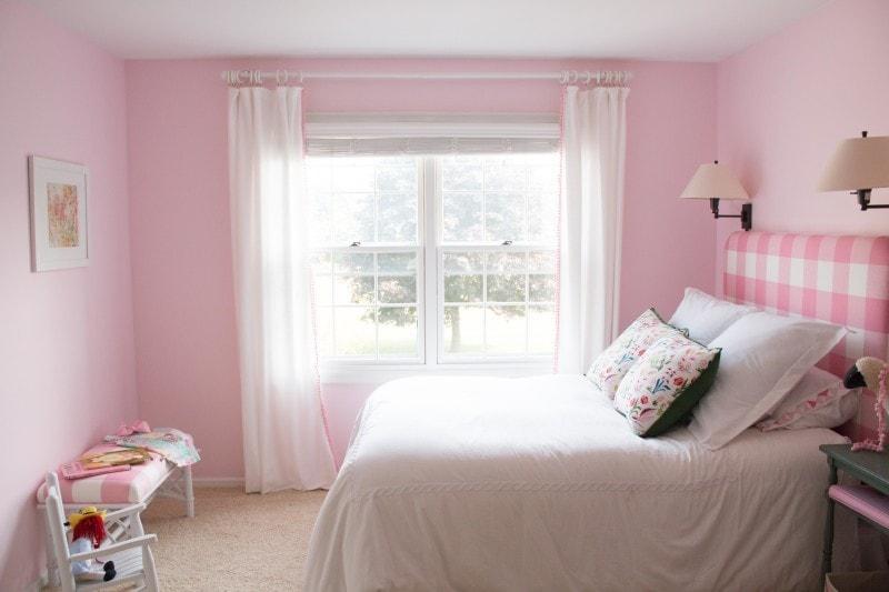 Budget Friendly Little Girls Room