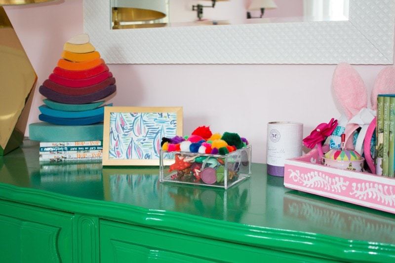 Budget Friendly Little Girls Room