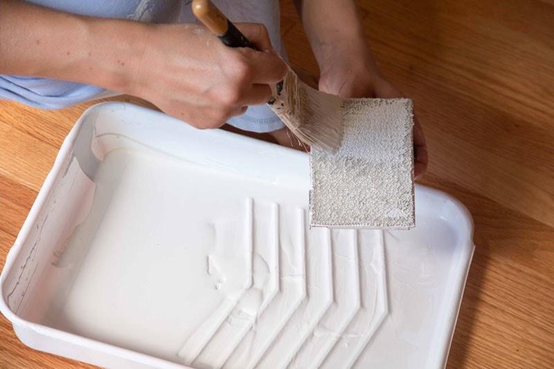 Painting A Fiberglass Door Roller Or Brush
