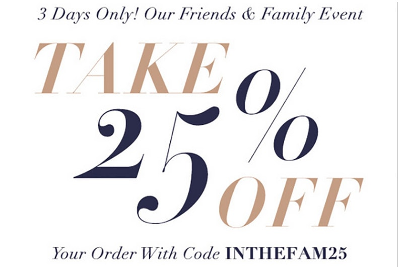 Huge Shopbop Friends & Family Sale Picks 1